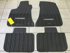 DODGE CHARGER Front And Rear Black Slush Floor Mats Set NEW OEM MOPAR