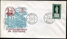 1962 - Corte dei Conti - n.955  - Busta F.D.C.