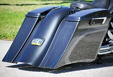 2009-13 Touring Harley Stretched Saddlebags and Rear Fender Bags