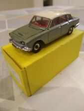 Vintage Dinky Triumph 2000 .Good condition .No - 135. Restored, white roof