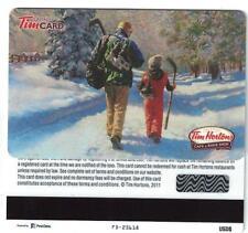 Tim Hortons USA 2011 Walking to Hockey Gift Card FD25618