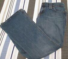Gap Jeans Original Ultra Low Rise Size 4 Cotton Blend Stretch Medium Wash EUC