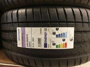 New Car Tyre Michelin Pilot Sport 4S 245/35/19 245 35 ZR19 93Y XL 245 35 19 D+A