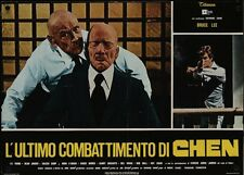 GAME OF DEATH Italian fotobusta photobusta movie poster 2 BRUCE LEE JABBAR