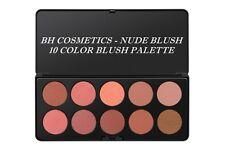 BH Cosmetics - Nude Blush ( 10 Colour Blush Palette)