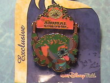 STITCH SWINGING ON A VINE ANIMAL KINGDOM D.V.C. LE EXCLUSIVE NEW WDW PIN