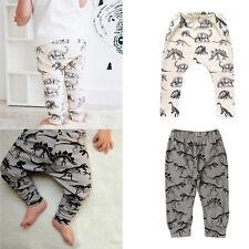 1PC Cute Toddler Baby Boy Girl Animal Bottoms Harem PP Pants Legging Trousers