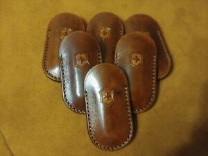 Leather case made for Victorinox Nail Clip 580  582 handmade