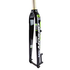 "MOSSO FK-M5 AL7005 Mountain Bike 26"" 27.5"" 29"" 700C Straight Fork Black x Green"