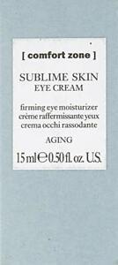 Comfort Zone Sublime Skin Eye Cream Firming Moisturizer 0.5 oz New Damaged Box
