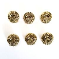 NWOT Vintage Pack of 140 Gold Tone Buttons