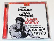 André Previn ELMER GANTRY Soundrack Enhanced Deluxe Edition CD (VG-)