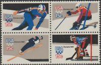 Scott# 1795-98 - 1980 Commemoratives - 15 cents Winter Olympics Block