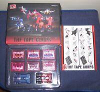 THF-01P 6 Six Tape Cassette Soundwave MP13 Transformers Action Figure