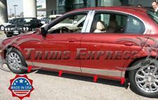 "1999-2007 Jaguar S-Type Rocker Panel Trim Body Side Molding 5""Stainless Steel"