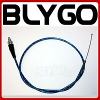 BLUE 980mm 100mm Twist Throttle Cable 110cc 125cc PIT PRO TRAIL QUAD DIRT BIKE