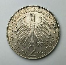 Dated : 1965 D - Germany - 2 Mark - Federal Republic 2 Mark - Max Planck