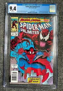 Spider-Man Unlimited #1 - Marvel CGC 9.4 - 1st Appearance of Shriek, White Pages