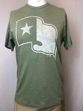 "New '47 Texas Rangers Men's Short Sleeve ""Flag"" T-Shirt, S & M"
