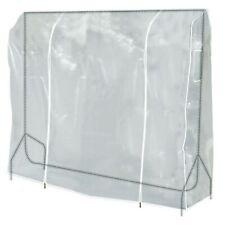 Hangerworld™ 5ft Clear Clothes Rail Cover Garment Coat Hanger Protector Storage