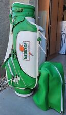 New listing Rare Belding Sports Vintage Green Gatorade Golf Bag Good Condition