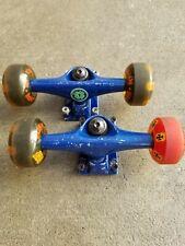 Yocaher Longboard Skateboard Trucks Combo Set W/ 38.1mm Wheels Plus 7.5 Inch.