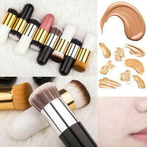 Portable Foundation Brush Flat Cream Makeup Brushes Cosmetic Tool Utensil Supply