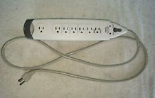 Belkin F9H71006 SurgeMaster Surge Protector, 7 Outlets, 6 ft Cord, Safety Covers