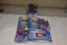 Lot Of (6) Neon String Light Wire Kits Car NEW