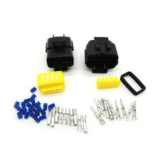 5sets of 10Pin Way Waterproof Wire Connector Plug Car Auto Sealed Electrical Set