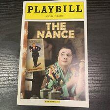 THE NANCE May 2013 Broadway Playbill! NATHAN LANE Jenni Barber ANDREA BURNS
