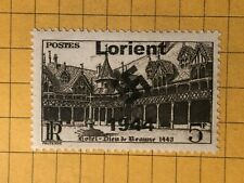 Germany FRANCE (Lorient) WWII-GERMAN OCC.  5 Fr.  MNH Priv. Issue /s3