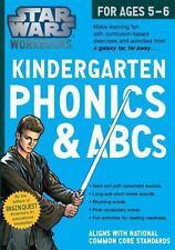 Star Wars Workbook: Kindergarten Phonics and ABCs (Star Wars Workbooks) by Work