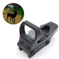 20mm Rail Riflescope Red Dot Sight Hunting Optics Holographic Reflex 4 Reticle