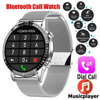 Touch Smart Watch ECG Blood Pressure Oxygen Heart Rate Monitor Sports Waterproof