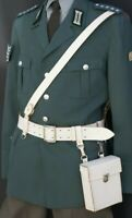 DDR Parade Koppel Set Leder Gürtel + Tasche + Tragehilfe NVA, Qualität