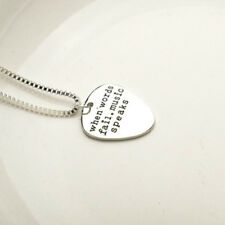 Jewelry Fashionable Letter Pendant Couples Necklace Choker Guitar Pick Pendant