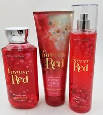 Bath & Body Works Forever Red Shower Gel, Body Cream & Mist Collection!