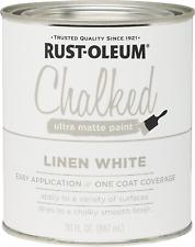Ultra Matte Interior Chalked Paint 30oz Linen White Diy Interior Exterior House