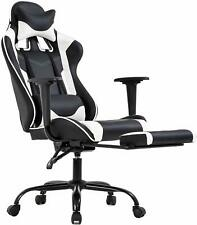 Office Chair PC Gaming Chair Ergonomic Desk Chair Executive PU Leather Computer