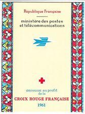 CARNET N° 1961 **  FRANCE CROIX ROUGE 1961