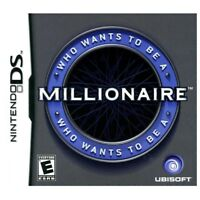 Who Wants to Be a Millionaire (Nintendo DS, 2010) DS NEW