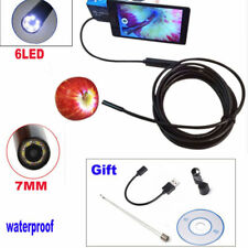 2M 6LED Endoscope Waterproof Borescope Inspection Camera For Android Phone & PC