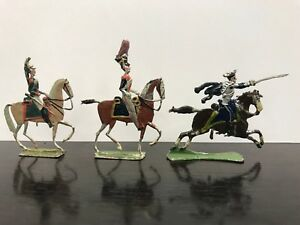 Figurines Pewter - Band Of 3 Cavaliers