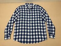 Country Road Shirt Mens ~ Sz Extra Large ~ Great Cond Checkered Design L/S Polo