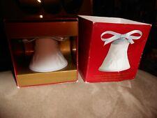 Lladro 1999 Christmas Porcelain Bell w Ribbon Rare Item 16636 Retired