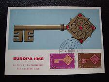 FRANCIA - tarjeta 1968 (europa) (cy97) french (A)