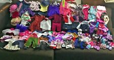 """180+ pc Lot of 18"""" Doll  Shoes/Clothing/Accessories/Glasses Battat My Life As OG"""