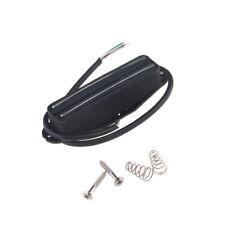 Black Single Coil Size Rail Blaster Humbucker Guitar Pickup For Fender Strat TL