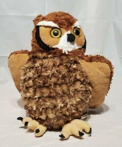 "Wild Republic 12"" Great Horned Owl Plush Item #12310"